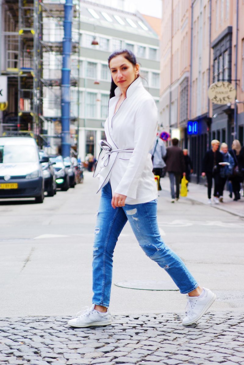Street Style Copenhagen The White Blazer Be You Very Well