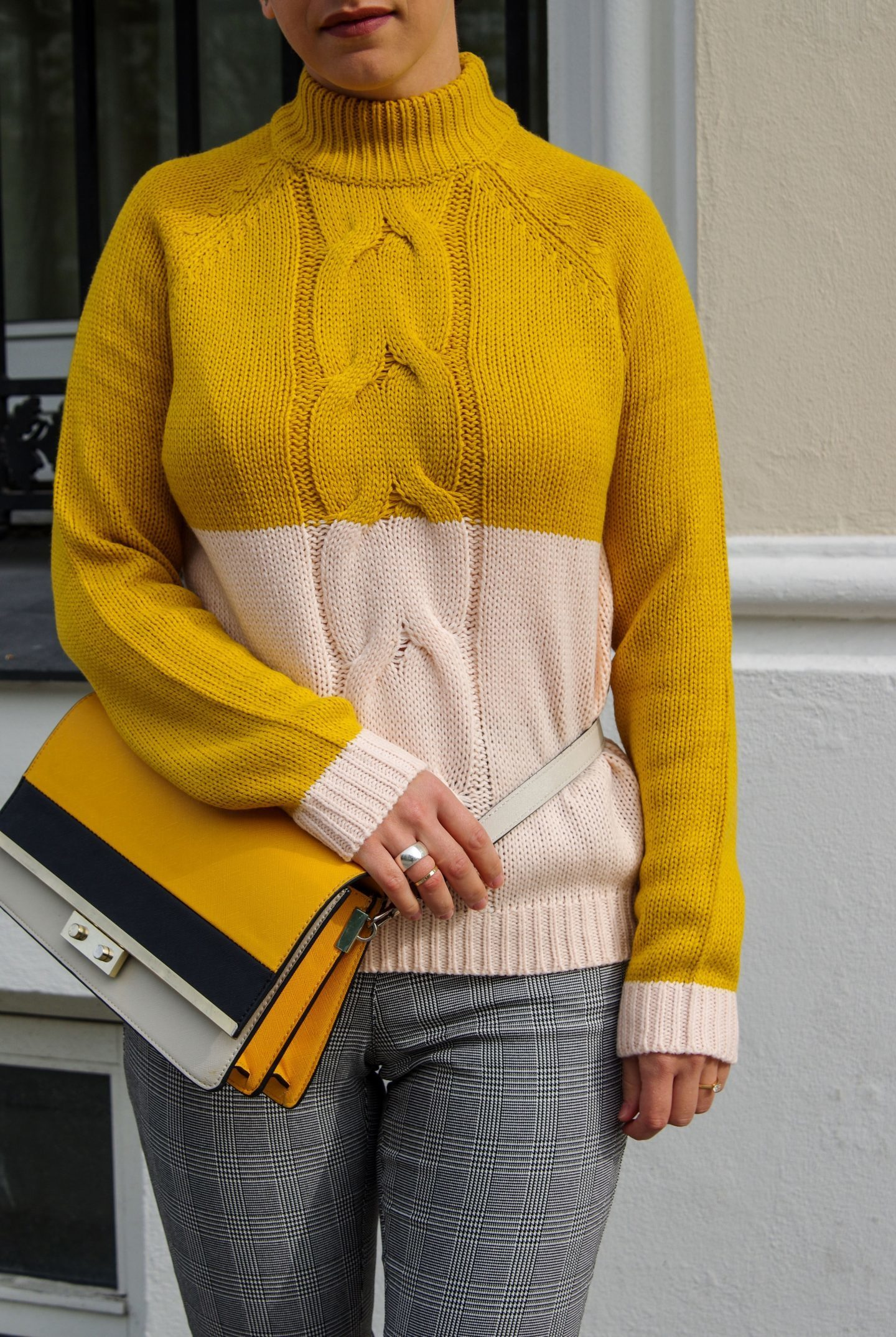 Yellow sweater Fall Autumn Pieces 2017