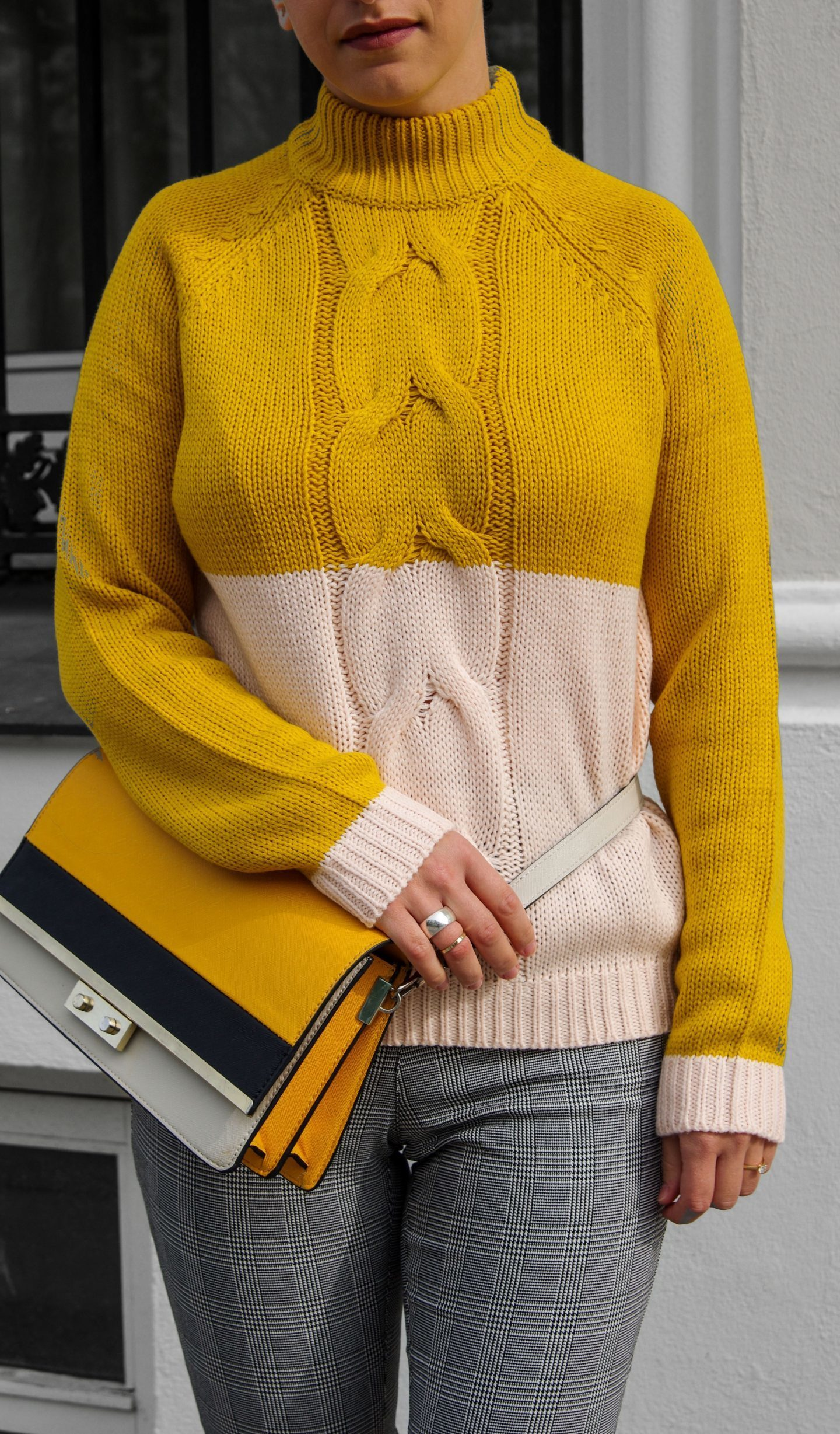 Yellow sweater copy Fall fashion Autumn essential pieces 2017 ds