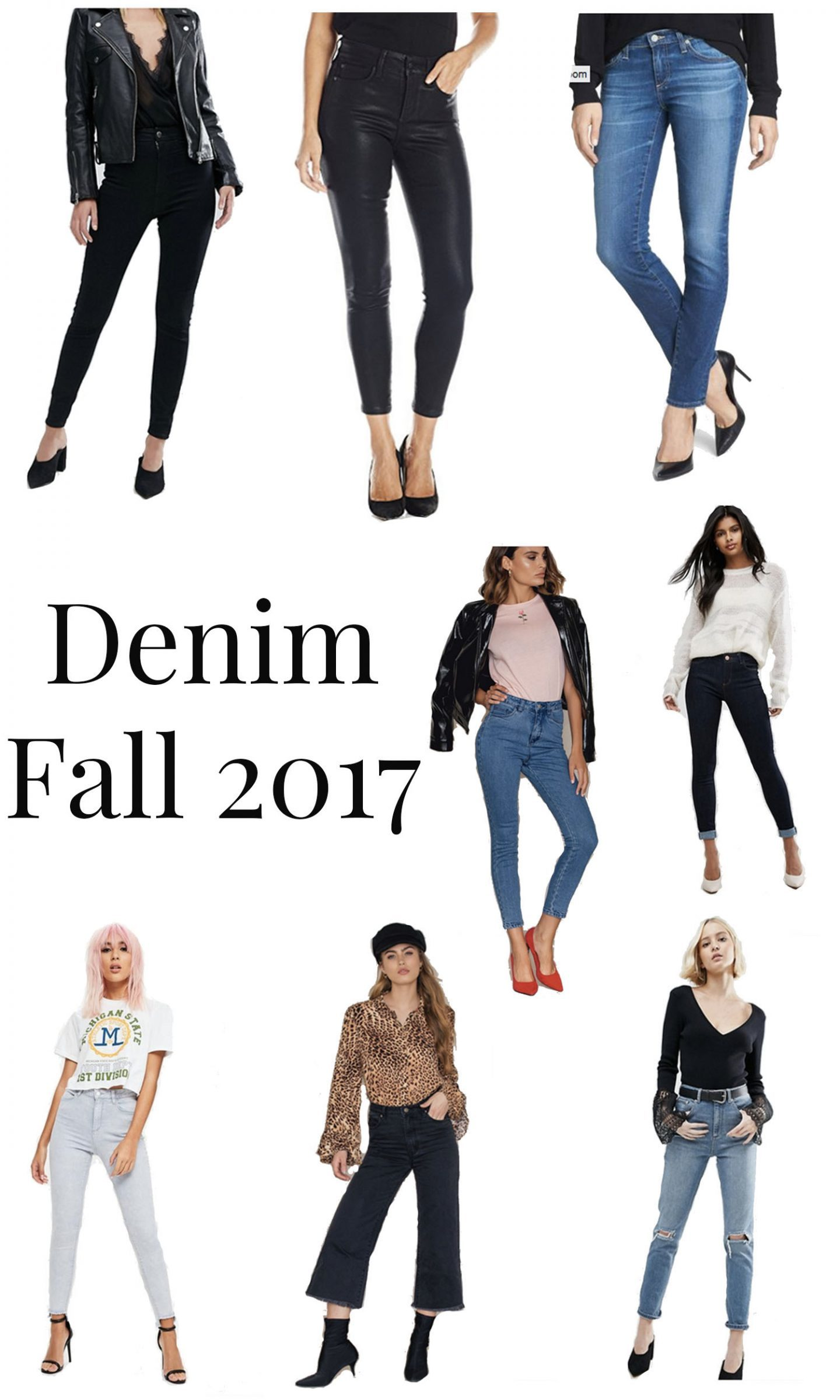 denim fall 2017 essential denim for fall autumn fashion