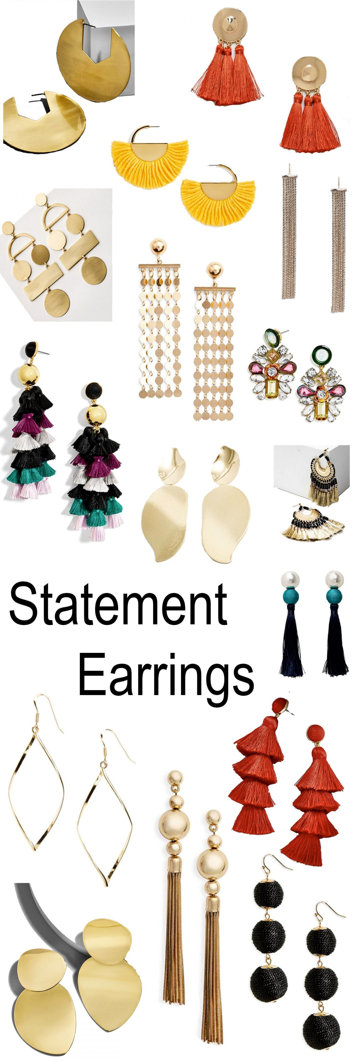 16 Essential statement Earrings
