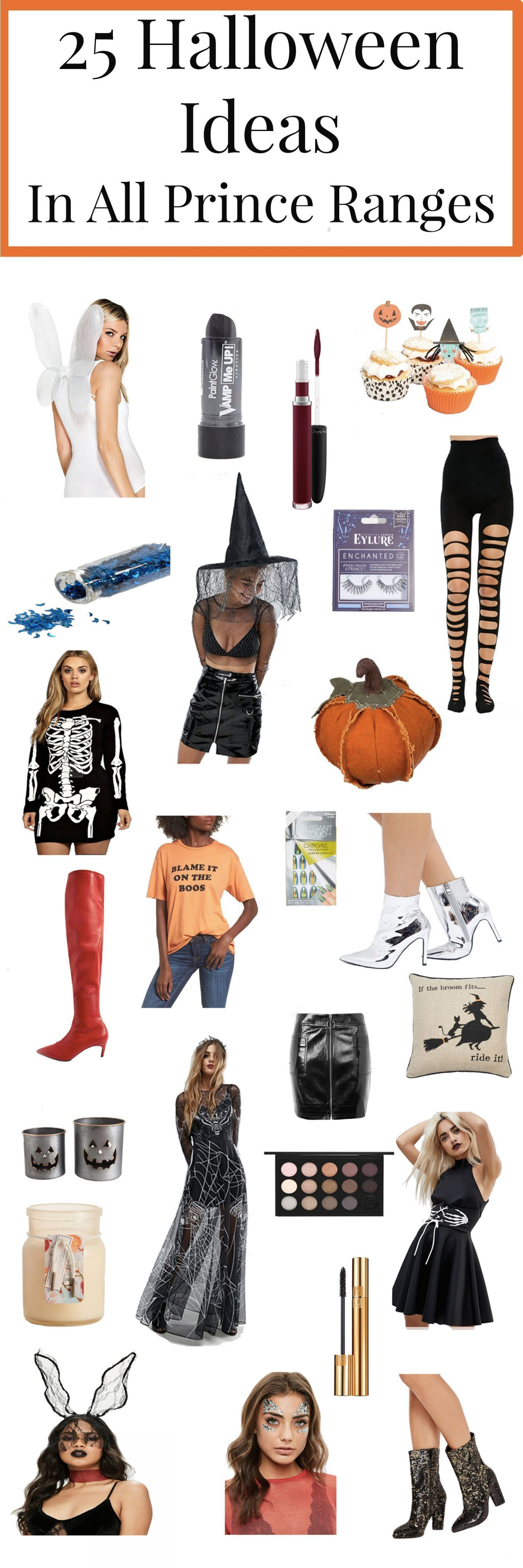 25 halloween ideas in all price ranges done