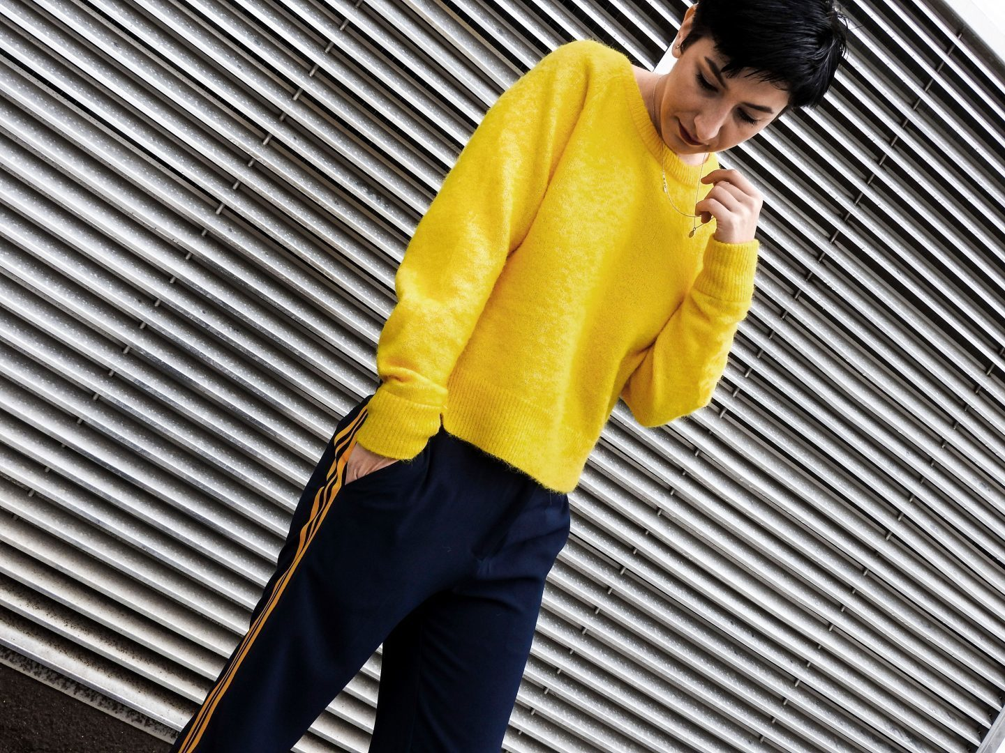 Casual Fall Outfit Yellow sweater, fall fashion, blog 3 MihaBalan.com copy