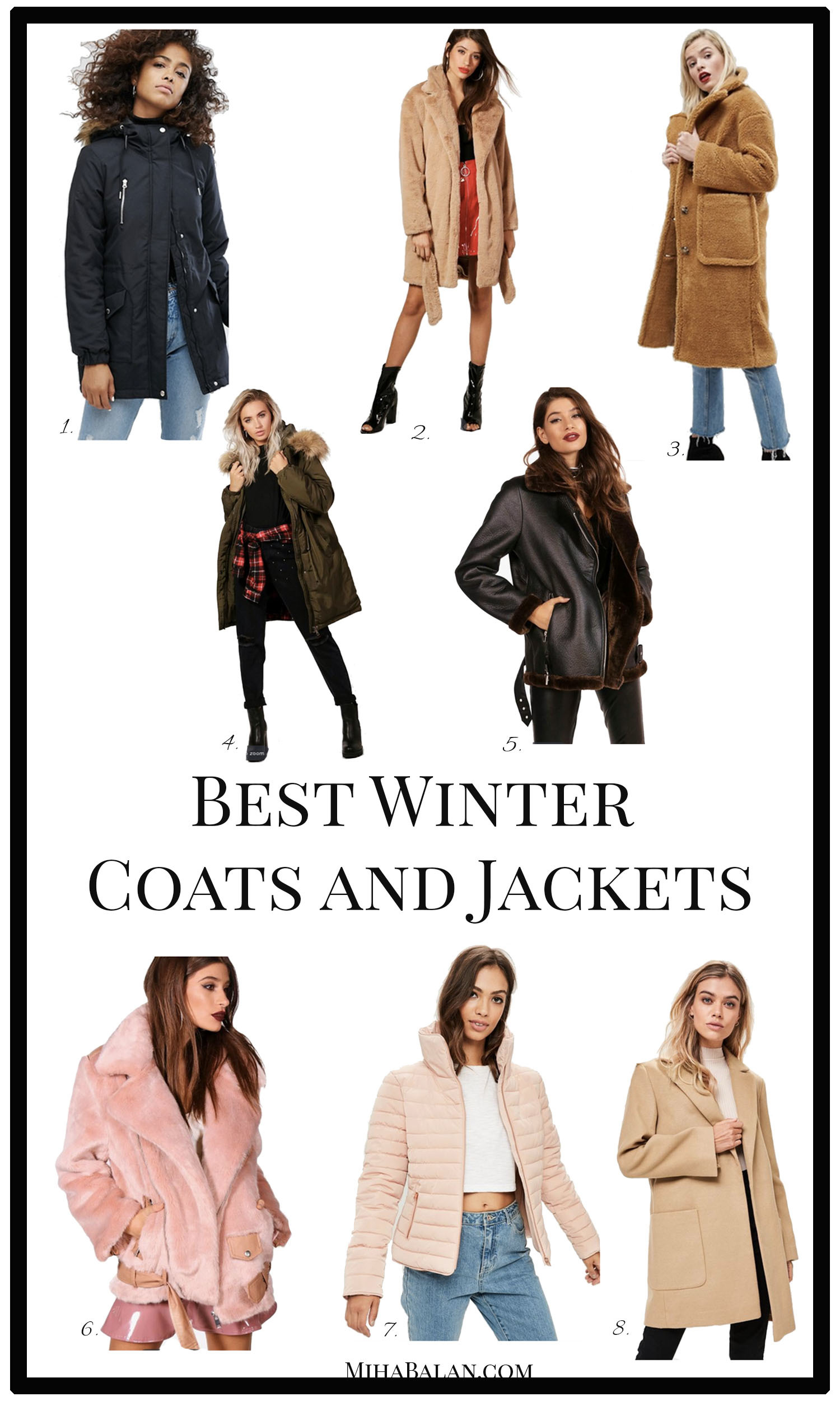 best winter coats and jacket, 2017- 2018