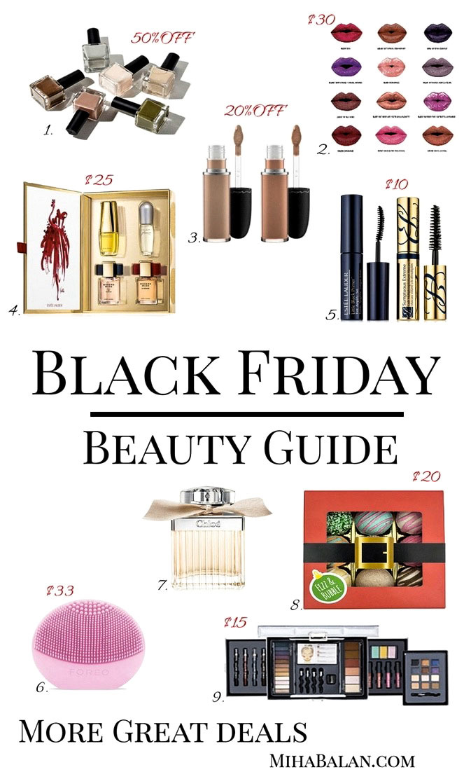 black friday beauty guide deals cyber monday