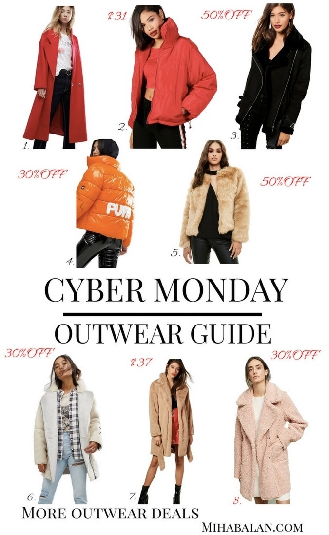cyber monday:black friday outwear coats and jackets deals,