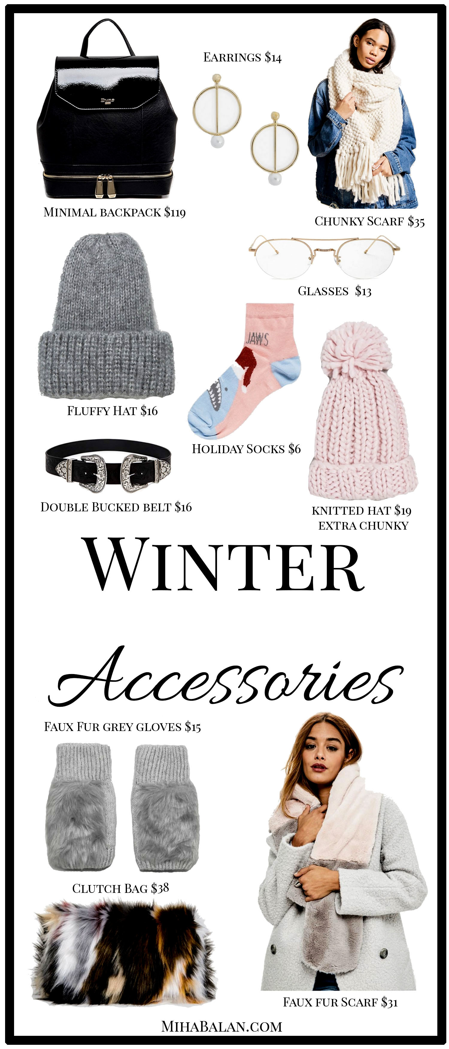 accessories for winter to keep you warm
