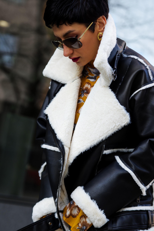 coat for winter, jacket for winter, aviator coat for winter, winter fashion