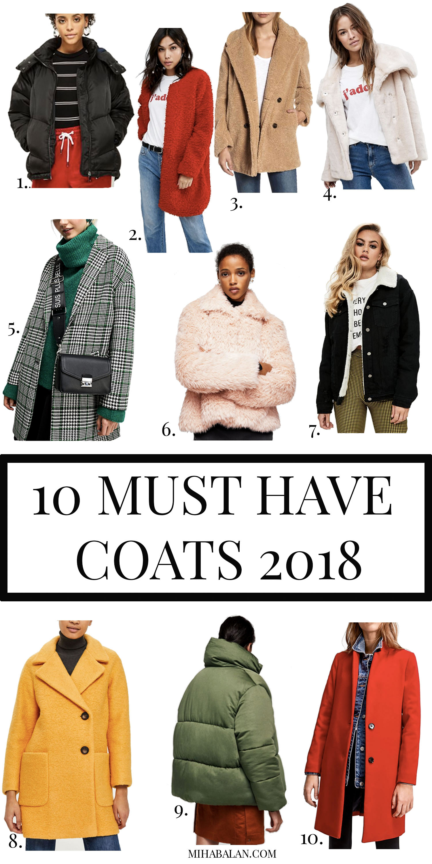 Women coats and jackets 2018, women fashion, winter fashion 2018