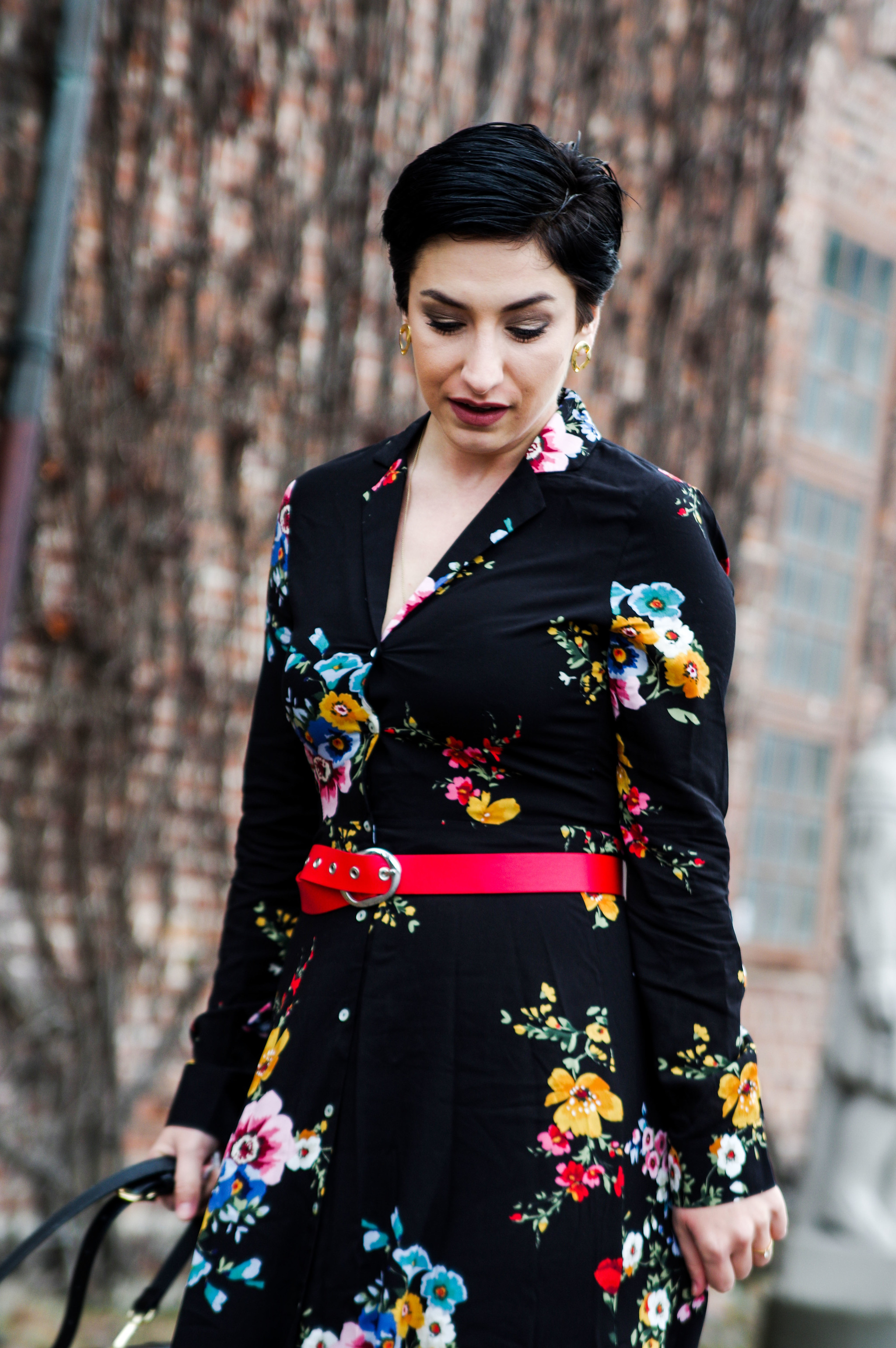 floral dress outfit 2018