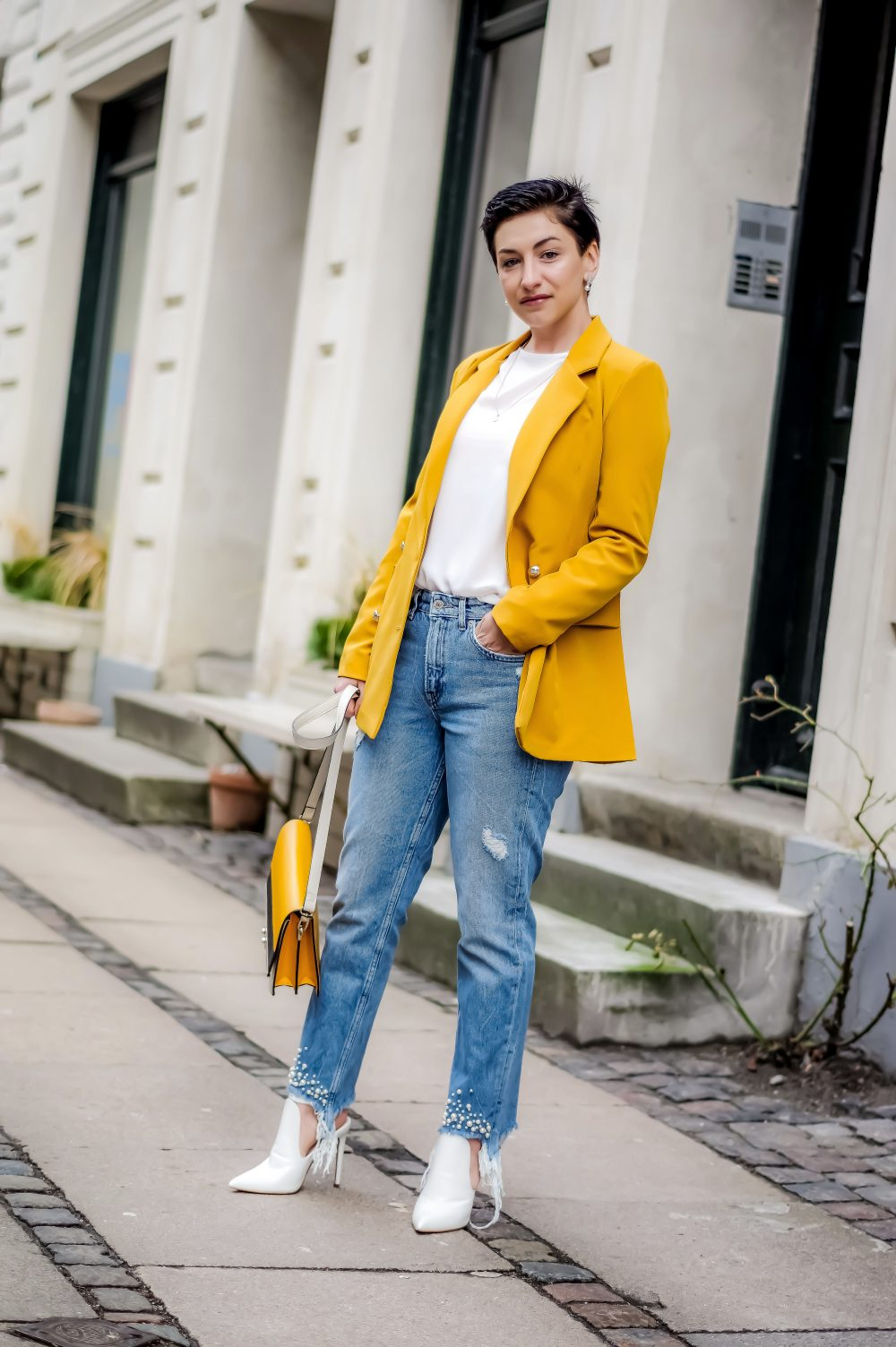 Spring outfit, Casual chic outfit, Spring style, Spring fashion, blazer1