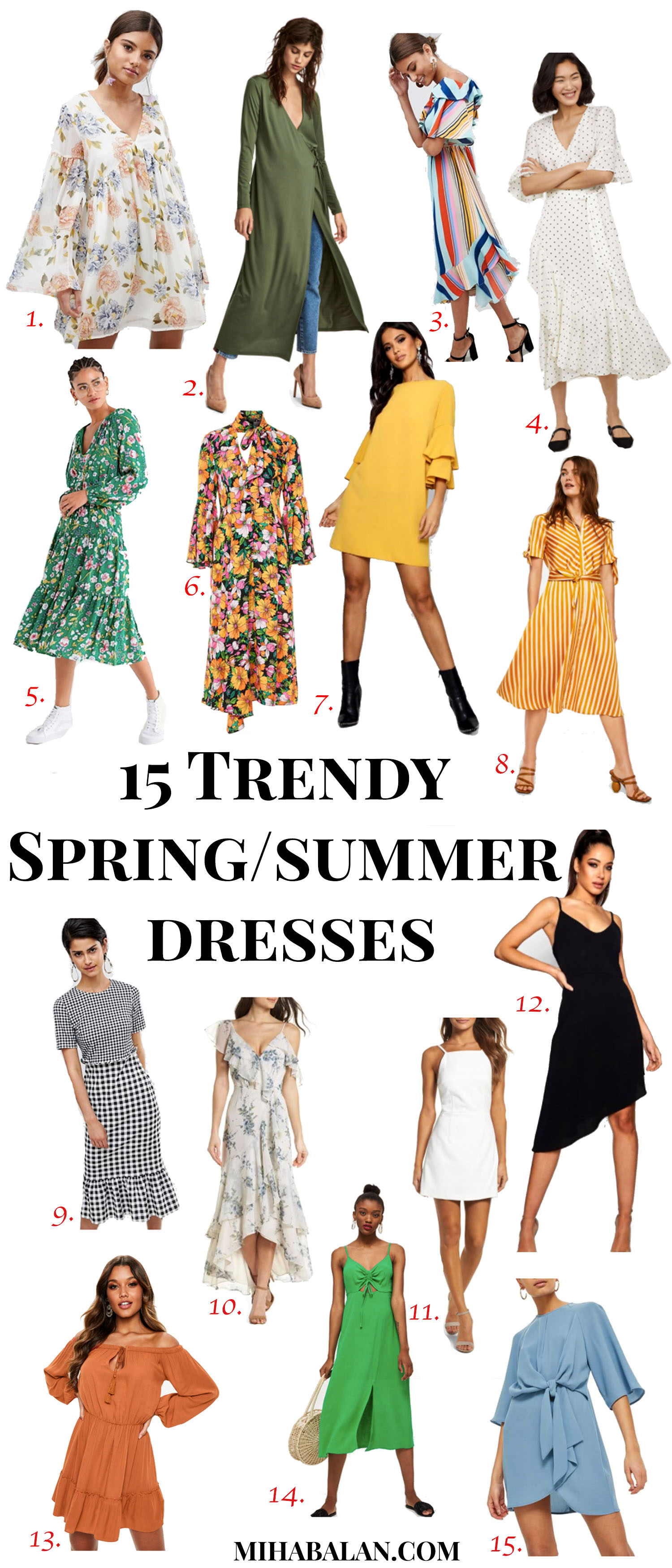 15 trendy and affordable spring summer floral dresses 2018