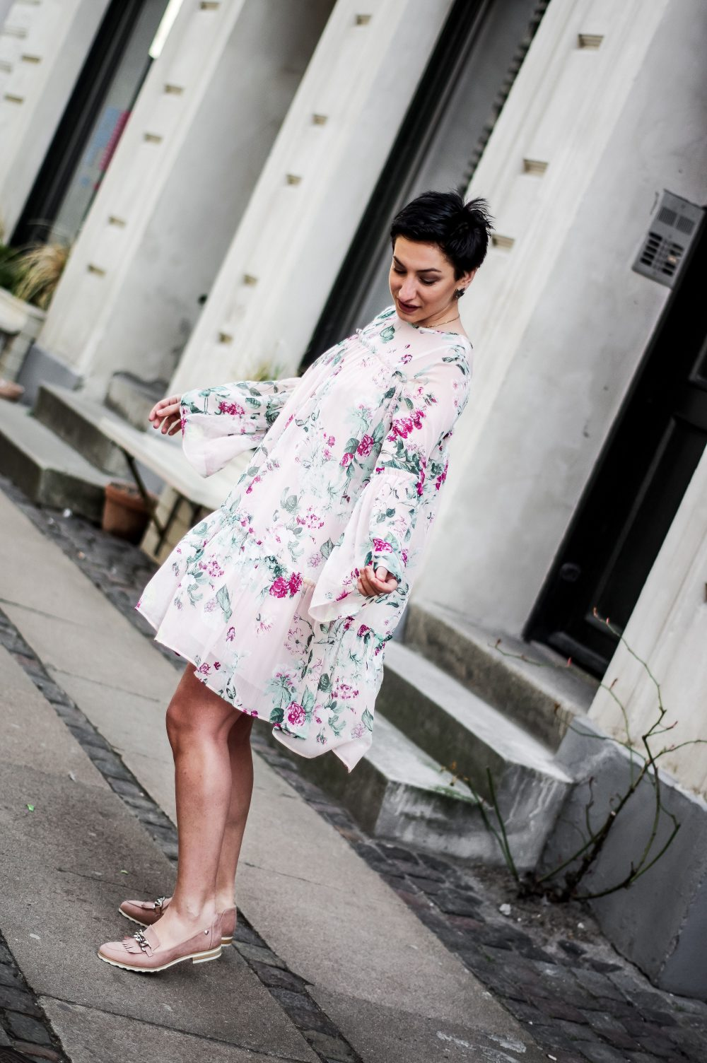 spring summer floral dress, affordable dress 3